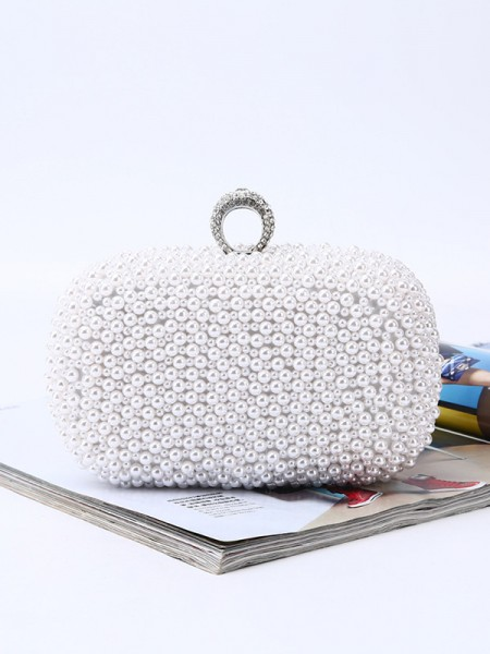 Trending Evening/Party Handbags With Pearl