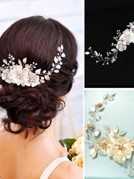 Charming Czech Pearl Wedding Headpieces